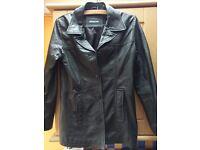 Womens jacket 100% leather