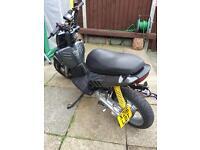 Yamaha slider 70cc modified £1700 build cost aerox nrg sr rs