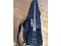 Epiphone Bass guitar as a brand new+ bass amplifier