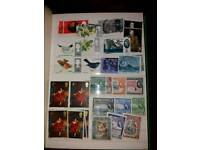 Stamp Collection Book Stamps from all over the World Collectables