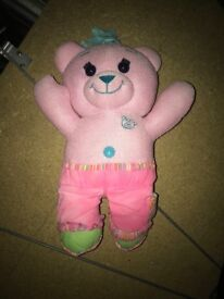 Colour me in teddy bear