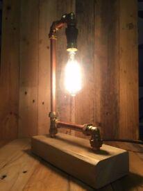 Designer Copper Lamp