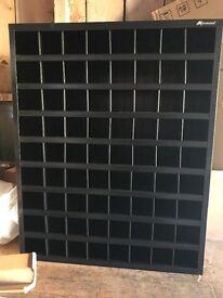 Montezuma 72 Compartment Bolt Bin