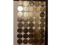 50p 50 pence collection lots of coins to choose from puddle duck(sold out) to Olympic