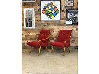 Mid Century Jitona Lounge Chairs by Smidek, 1960s