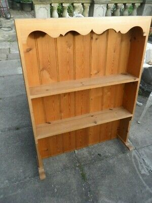 Hastings/ local delivery 3 feet wide Old Solid Pine Dresser Top Plate Rack