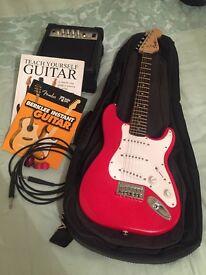 Squier Strat Copy Guitar