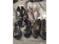 Job lot ladies branded shoes and sandals size 6