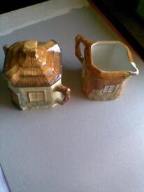 JOB LOT.CERAMIC'S,COTTAGE,TOASTER ,BUTTER DISH ECT