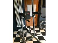 Bodymax heavy duty power tower pull up rack