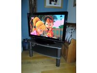 "SUPERB CONDITION PANASONIC 37"" 'VIERA' DV3 DIGITAL TV TELEVISION BUILT IN FREEVIEW PLUS STAND"
