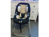 Mamas and papas car seat and stand