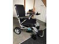 Foldawheel Powered folding Chair