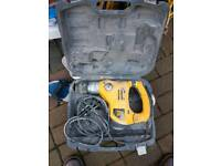 electric drill jcb working