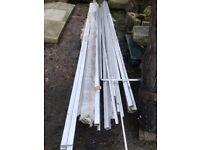 Large quantity of new aluminium