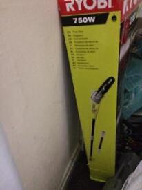 Ryobi electric chainsaw new unused