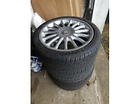 Mg 17s alloys and tyres