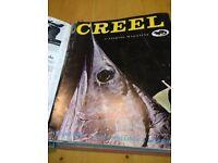 CREEL fishing magazines