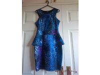 Jane Norman's peplum dress size 10