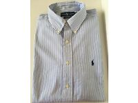 Set of four Ralph Lauren men's shirts. Size 16.5/Large. EXCELLENT condition!