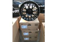 "4 18"" alloy wheels alloys rims tyre tyres vw Volkswagen seat Skoda audi Mercedes"