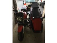 Side car out fit, Honda CB1000