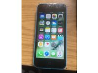 iPhone 5C 8Gb unlocked to any network fair condition New screen