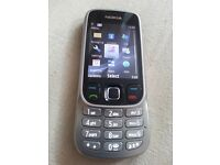 Nokia Classic 6303i - Steel (virgin media) Mobile Phone