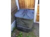 Used compost bin