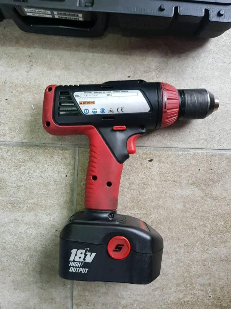 Snap On 18v Power Drill