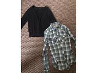 Bundle of girls/ women's clothes
