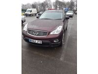 2012 Infiniti EX 3.0 TD V6 5dr HUGE SPEC INC SAT NAV, LEATHER