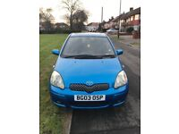 Toyota yaris T spirt small car for delevery