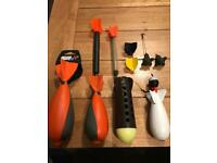 Job Lot Of c2 fox compact spods,mini spomb with float,spod and marker floats and marker leads
