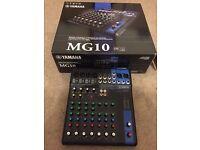 Yamaha MG10 Mixer / Mixing Console / Desk