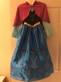 Disney Store Frozen Anna Dress with Boots