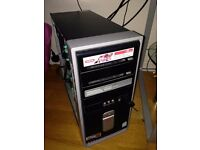 Compaq Presario PC Desktop Tower, 4GB Ram, 320GB HDD, Nvidia GeForce 9800 GTX + Graphics, Win 10