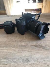 Canon 650d t4i rebel camera