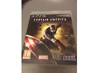 Captain America super soldier PS3 Game