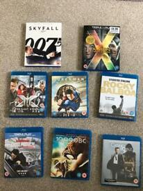 Selection of Blu-ray Movies