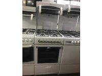 50CM WHITE BEKO EYE LEVEL GAS COOKER
