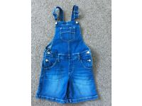 Girls dungarees age 6-7 Marks and Spencer's