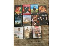 Bulk DVD lot of 50 DVD's and music video's