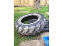 Tractor tyre for fitness training