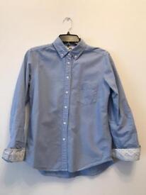 Blue women's shirt size S Uniqlo