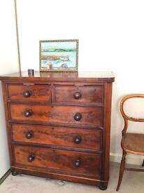 GENUINE VICTORIAN LARGE CHEST FREE DELIVERY LDN🇬🇧