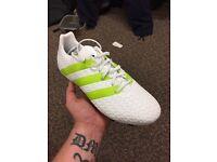 Never worn adidas football boots