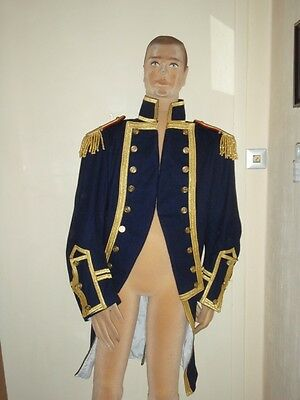 Napoleonic-  Royal Navy Captain Uniformjacke - Theaterkostüm