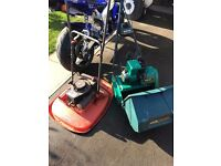 2x petrol mowers, spares or repair