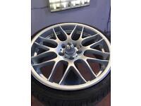 Alloy wheel refurbishment repair